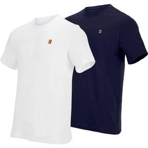 Men`s Court Heritage Emblem Tennis Top