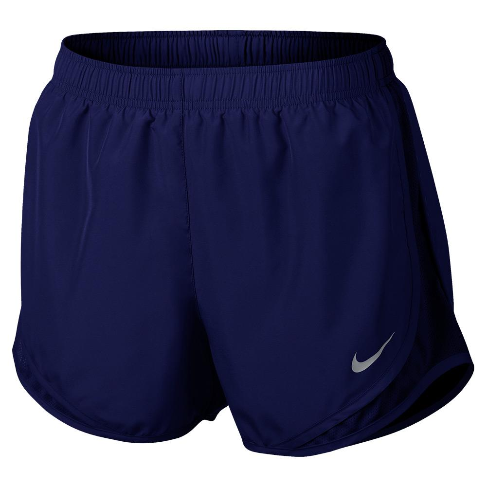 Women's Tempo Running Shorts Blue Void