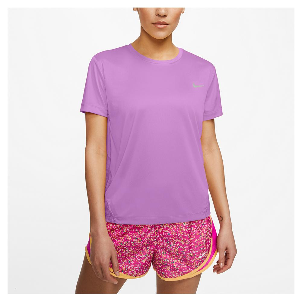 Women's Miler Short- Sleeve Running Top