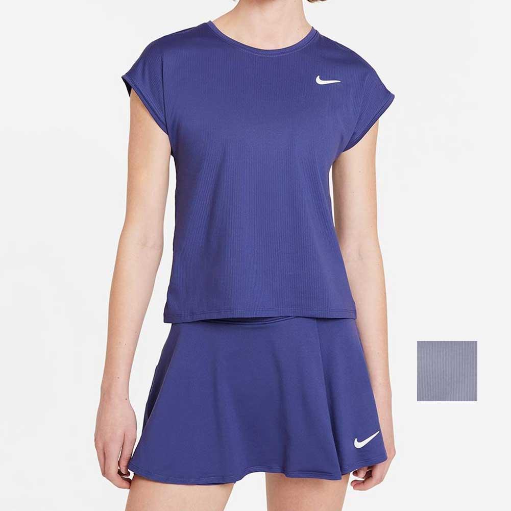 Women's Court Dri- Fit Victory Short Sleeve Tennis Top