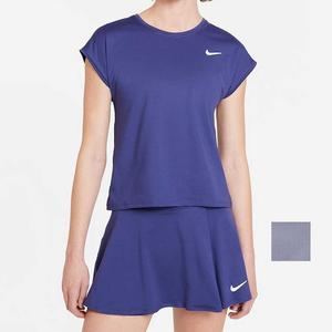 Women`s Court Dri-FIT Victory Short Sleeve Tennis Top
