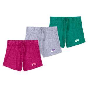 Girls` Sportswear Jersey Shorts