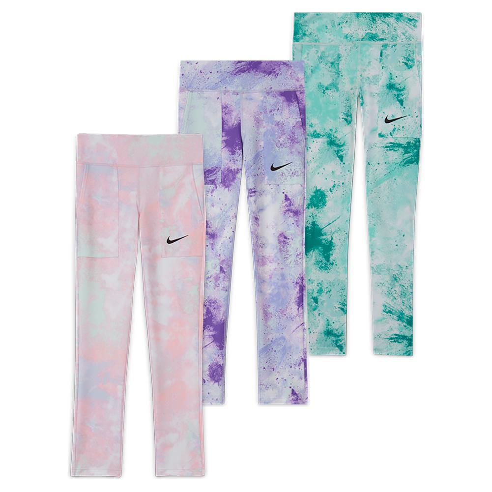 Girls ` One Printed Tights