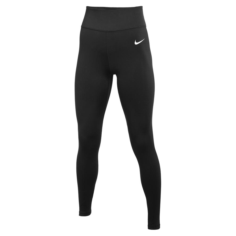 Women's One Mid- Rise Tights Black And White
