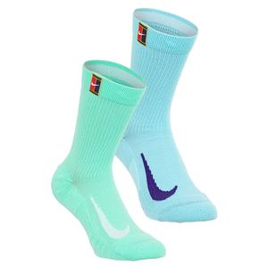 Court Multiplier Cushioned Tennis Socks Multi-Color