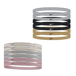 Women`s Swoosh Sport Headbands 6 Pack Metallic