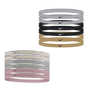 Women`s Swoosh Sport Headbands 6 Pack Metallic