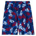 Boys` Sportswear Printed Woven Shorts 480_GAME_ROYAL/BL_VD