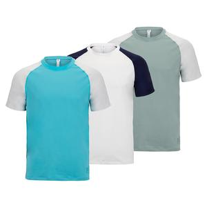 Men`s Tie Breaker Colorblock Tennis Crew
