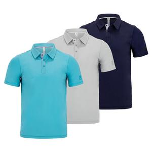 Men`s Tie Breaker Short Sleeve Tennis Polo