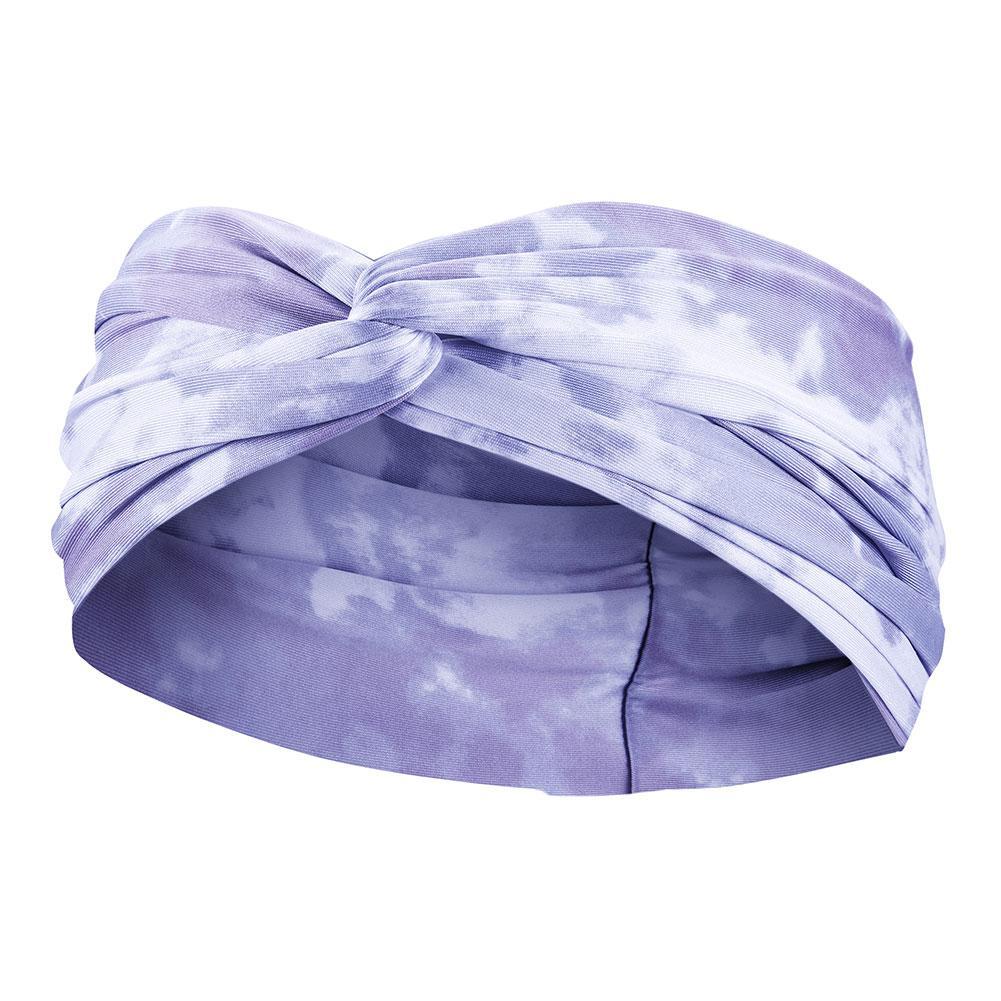 Women's Printed Twist Knot Headband Light Thistle