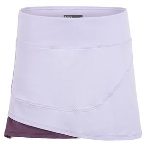 Women`s Power Tennis Skort Bluebell and Currant
