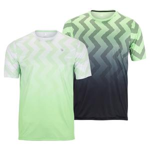 Men`s Hypercourt Print Tennis Crew