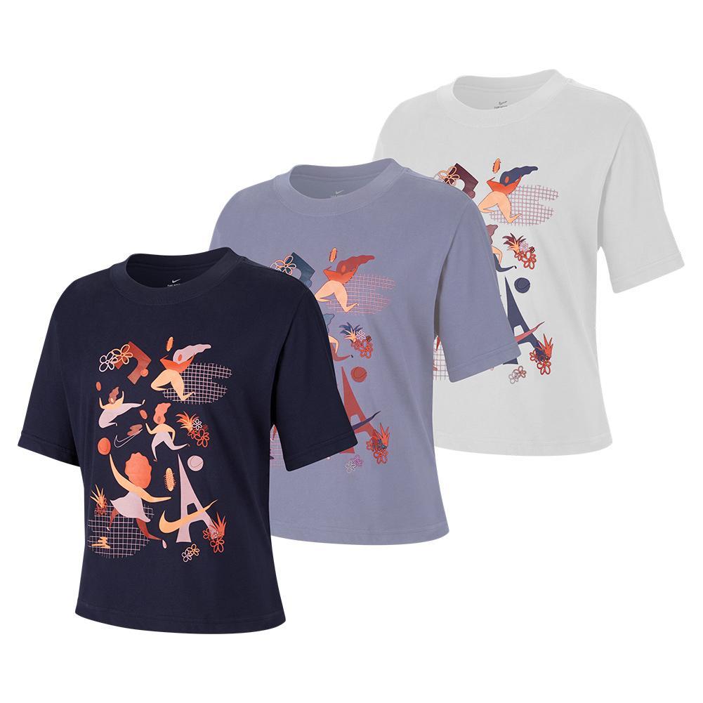 Women's Rg Court Dri- Fit Enhergy Tennis T- Shirt