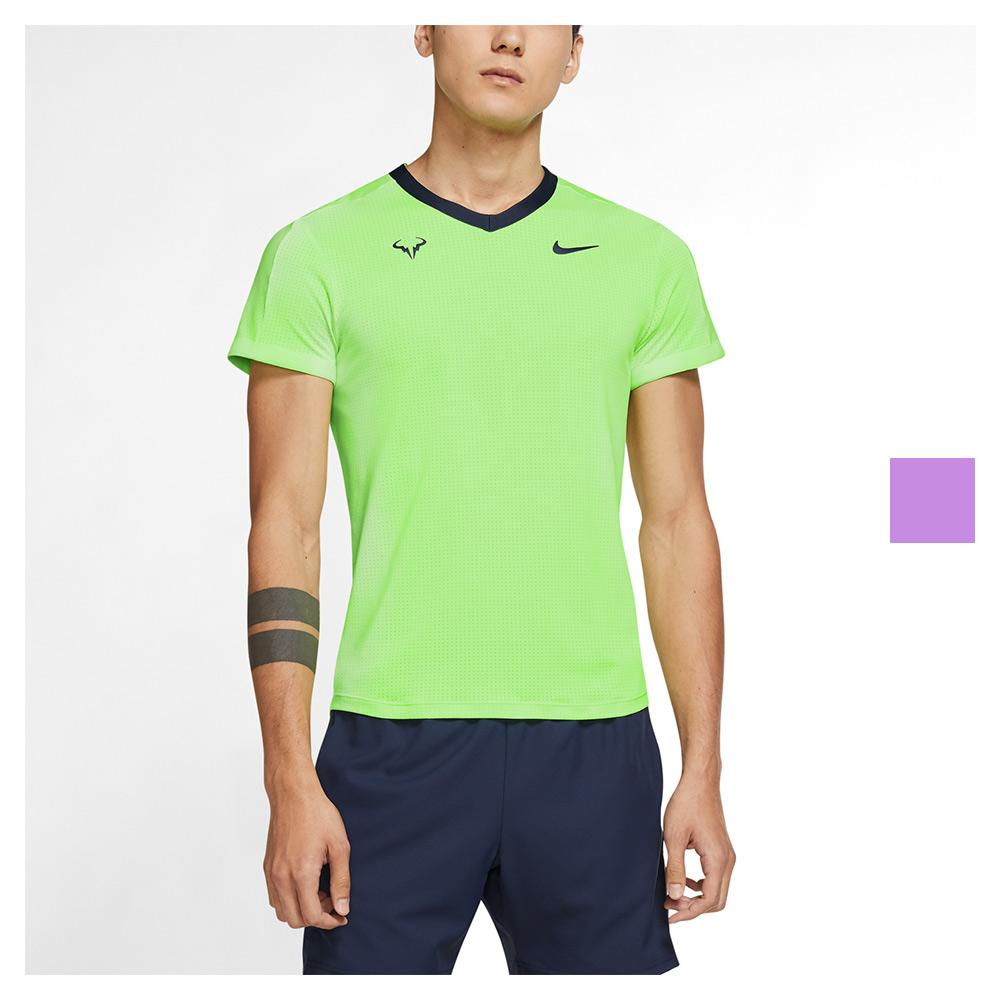 Men's Rafa Court Dri - Fit Adv Short Sleeve Tennis Top