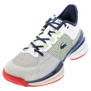 Men`s AG-LT 21 Ultra Tennis Shoes White and Blue