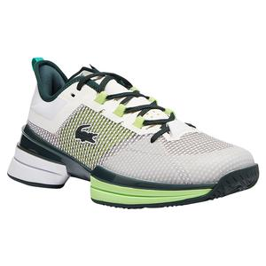 Men`s AG-LT 21 Ultra Tennis Shoes White and Green