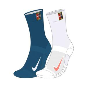 Court Multiplier Cushioned Tennis Socks Multi-Color