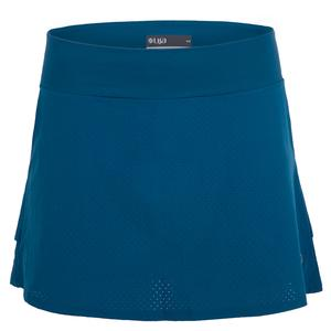 Women`s Relay Tennis Skort Sea Blue
