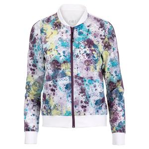 Women`s Celia Tennis Jacket Splatter and Currant