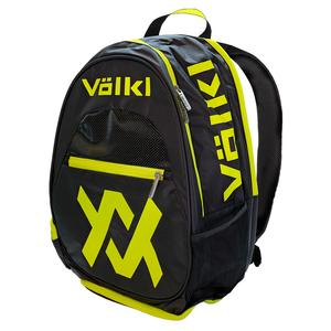 Tour Backpack Black and Neon Yellow