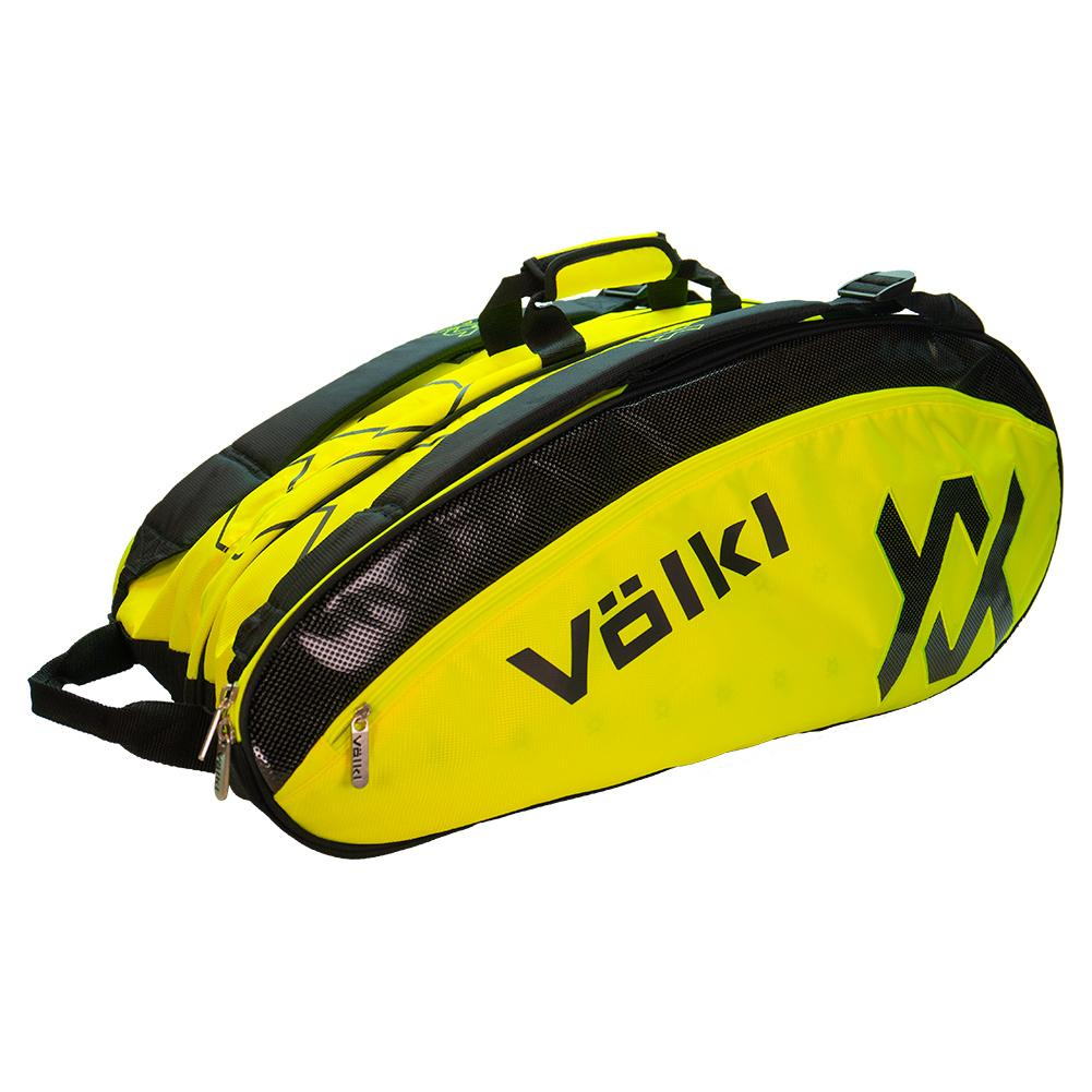 Tour Mega Tennis Bag Neon Yellow And Black