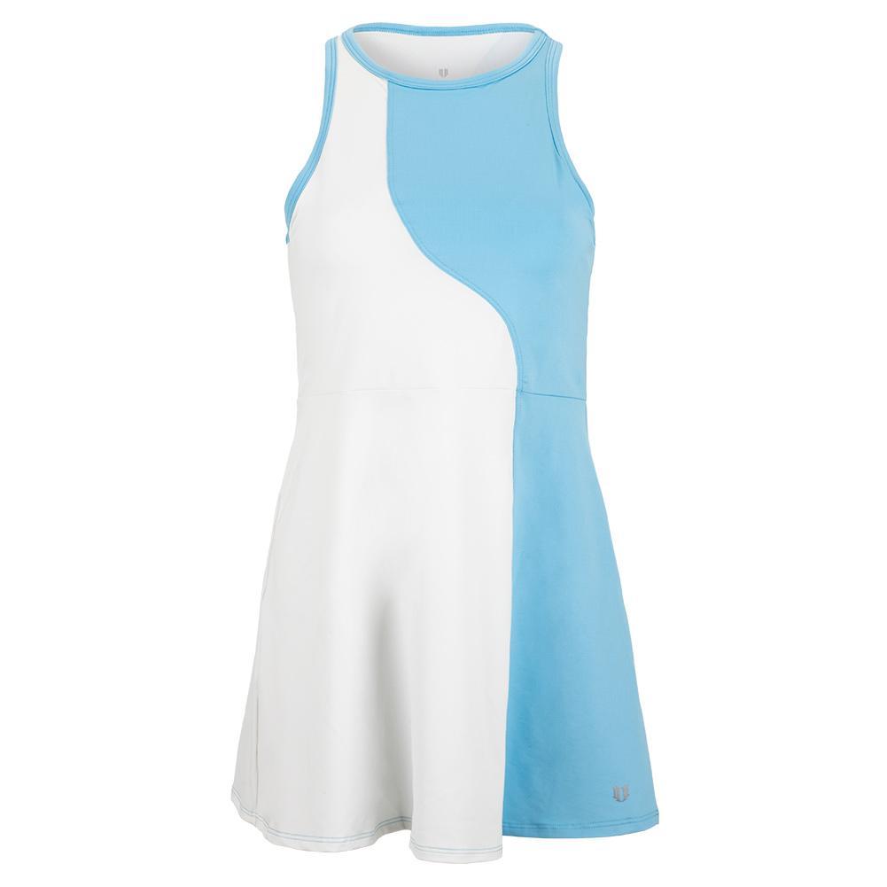 Women's Crescent Moon Tennis Dress White