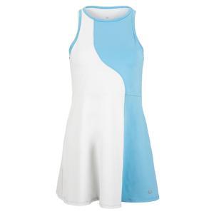 Women`s Crescent Moon Tennis Dress White