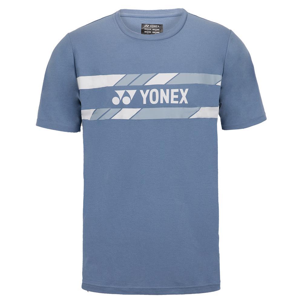 Men's Practice Tennis T- Shirt Mist Blue