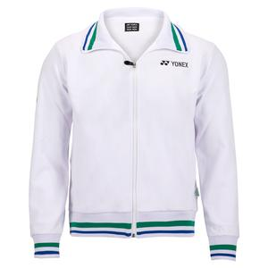 Men`s 75th Elite Warm-Up Tennis Jacket White