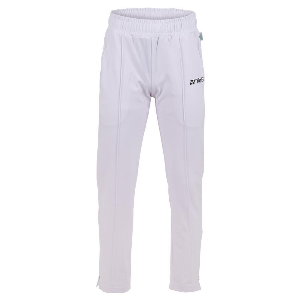 Men's 75th Elite Warm- Up Tennis Pants White