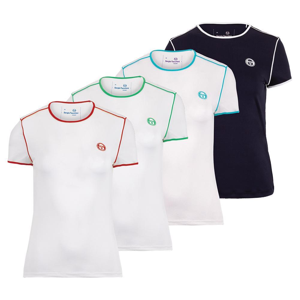Women's Tcp Short Sleeve Tennis Top