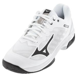 Men`s Wave Exceed SL 2 AC Tennis Shoes White and Black