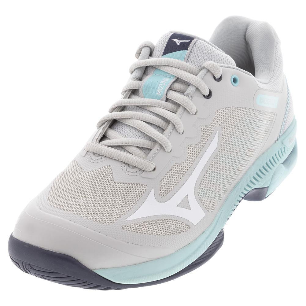 Women's Wave Exceed Sl 2 Ac Tennis Shoes Lunar Rock And White