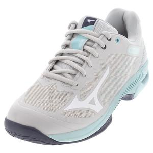 Women`s Wave Exceed SL 2 AC Tennis Shoes Lunar Rock and White