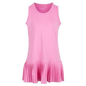 Girls` Mini Pleat Tennis Dress Pink