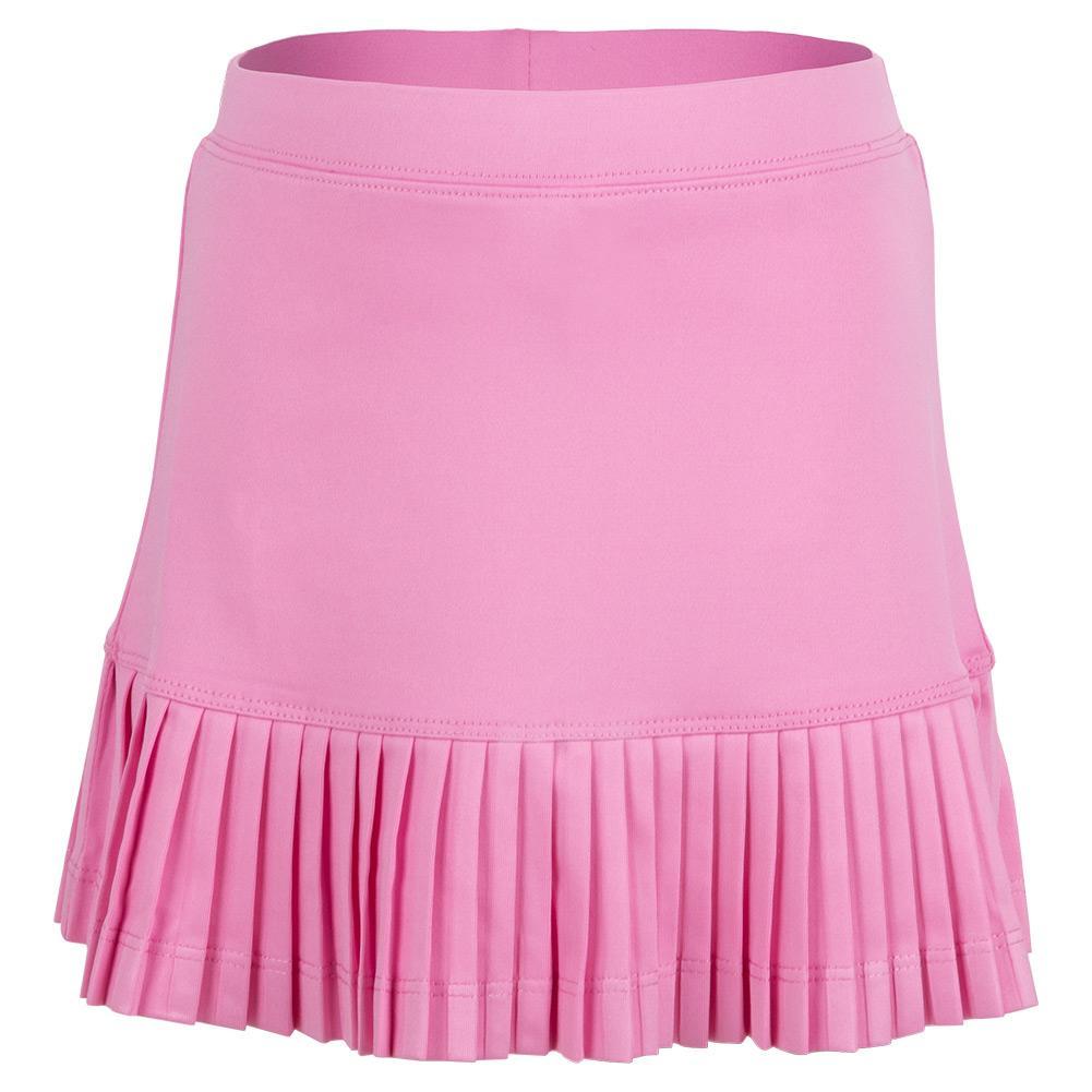 Girls ` Mini Pleat Tennis Skort Pink
