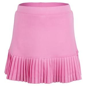 Girls` Mini Pleat Tennis Skort Pink
