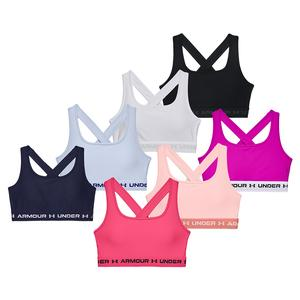 Women`s Armour Mid Crossback Sports Bra