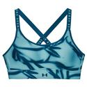 Women`s UA Infinity Mid Printed Sports Bra 476_COSMOS/LGN_BL
