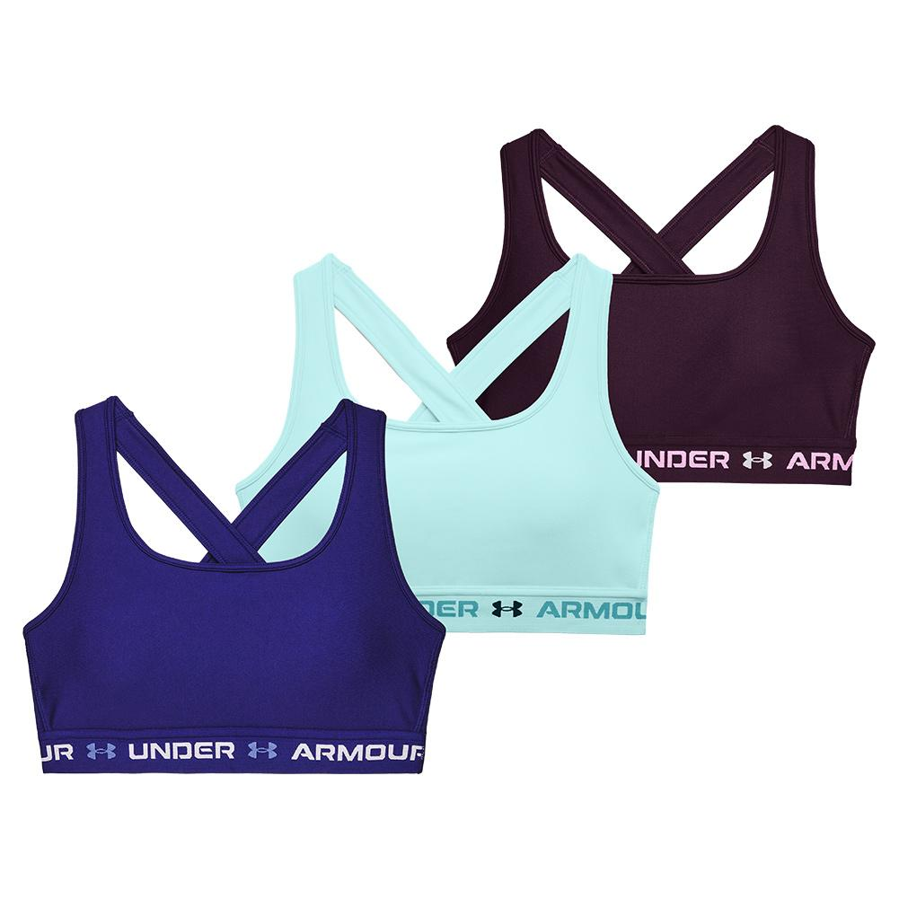 Women's Armour Mid Crossback 3- Color Sports Bra