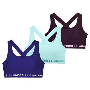 Women`s Armour Mid Crossback 3-Color Sports Bra