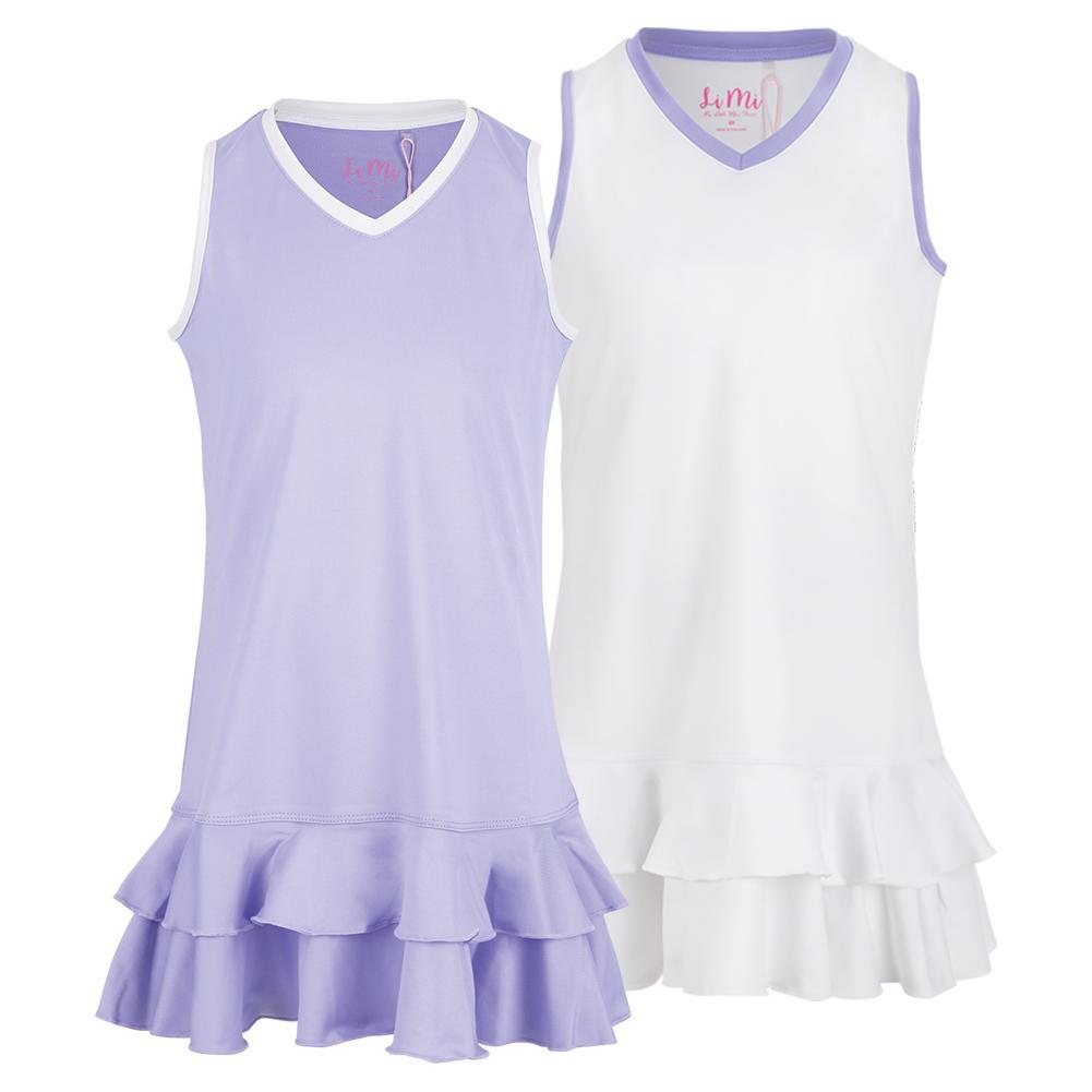 Girls ` Ruffle Tennis Dress