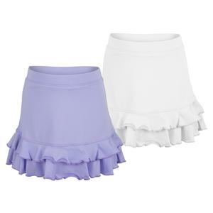 Girls` Ruffle Tennis Skort