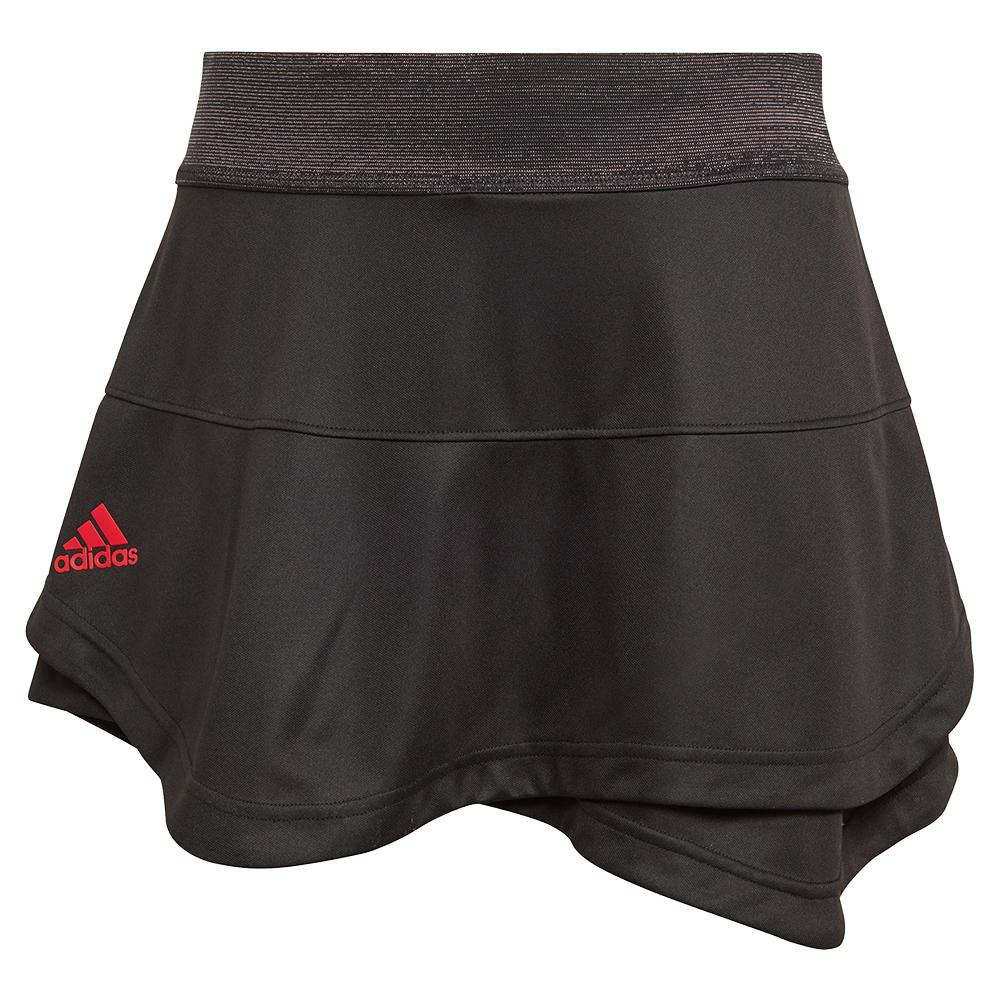 Women's Primeblue Aeroready Match Tennis Skort Black