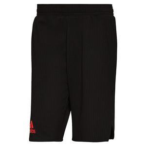 Men`s Primeblue Next Level 9 Inch Tennis Short Black