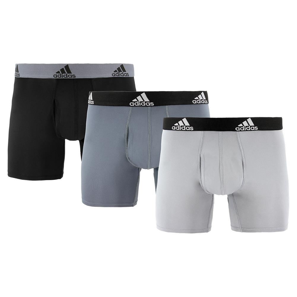 Men's Performance Boxer Briefs 3 Pack Black And Onix