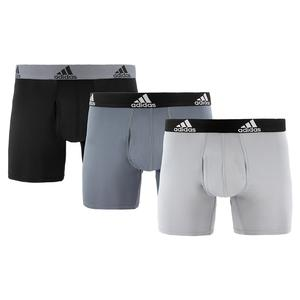 Men`s Performance Boxer Briefs 3 Pack Black and Onix
