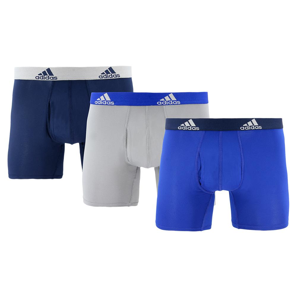 Men's Performance Boxer Briefs 3 Pack Collegiate Royal And Onix