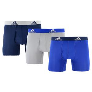 Men`s Performance Boxer Briefs 3 Pack Collegiate Royal and Onix